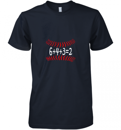 mvo5 funny baseball 6432 double play shirt i gift 6 4 32 math premium guys tee 5 front midnight navy