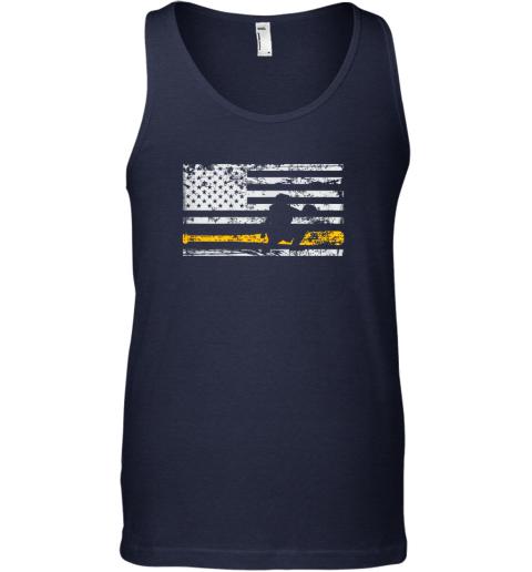 jkis softball catcher shirts baseball catcher american flag unisex tank 17 front navy