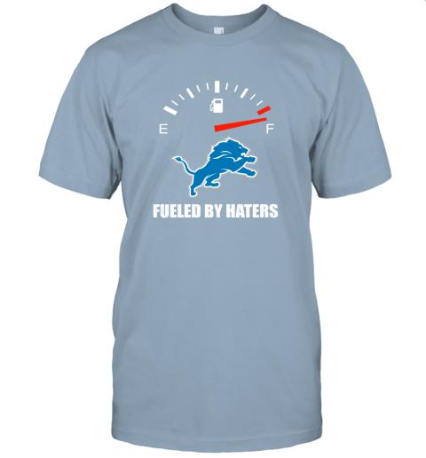 lzld fueled by haters maximum fuel detroit lions jersey t shirt 60 front light blue