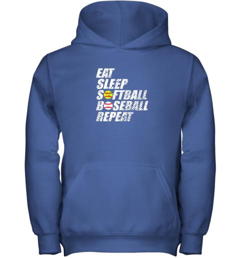 op3p softball baseball repeat shirt cool cute gift ball mom dad youth hoodie 43 front royal