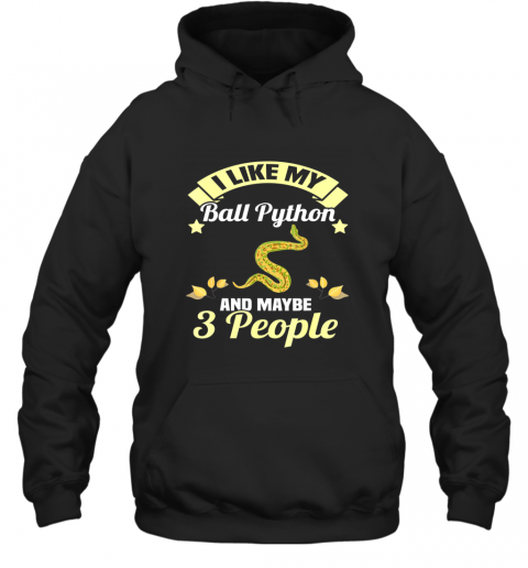 Ball Python Snakes Lover Gifts Reptiles Pet Love Owner TShirt Hoodie