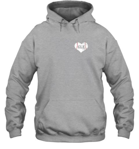 ulfw vintage cleveland baseball sweatshirt ohio cle hoodie 23 front sport grey