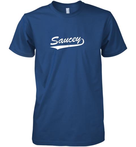 ui92 saucey swag baseball premium guys tee 5 front royal