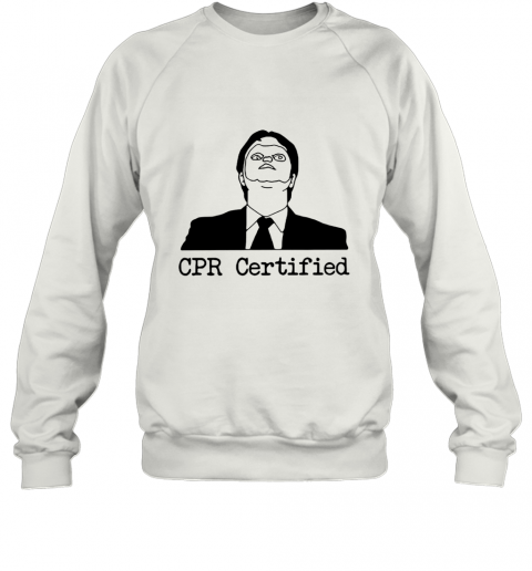 First Aid Fail CPR Certified The Office Sweatshirt