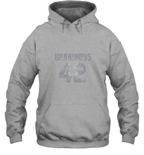 ins0 new york 42 baseball unanimous hof distressed mo hero hoodie 23 front sport grey