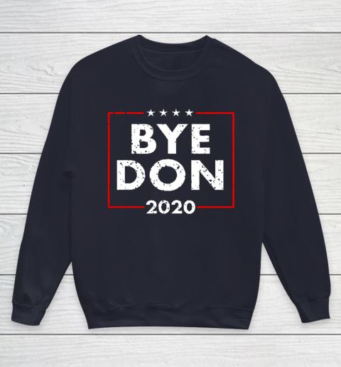 ByeDon 2020 Joe Biden 2020 American Election Youth Sweatshirt 2