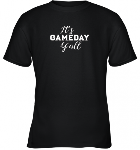 It's Game Day Y'all Football, Baseball, Basketball Youth T-Shirt