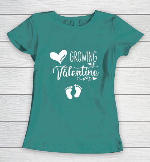 Growing my Valentine Tshirt for Wife Women's T-Shirt 10