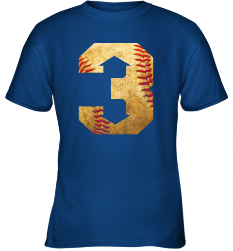 b3qc three up three down baseball 3 up 3 down youth t shirt 26 front royal