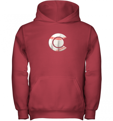 tbgs colorado baseball youth hoodie 43 front red