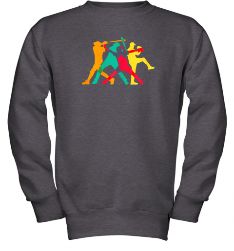 mop6 vintage baseball shirt gifts youth sweatshirt 47 front dark heather