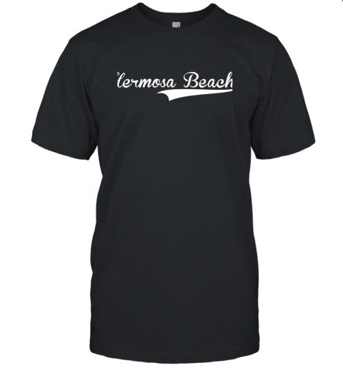 HERMOSA BEACH Baseball Softball Styled Unisex Jersey Tee
