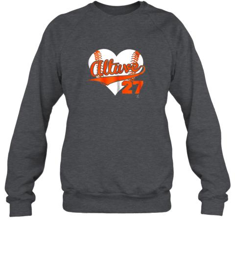 jzqw jose altuve baseball heart shirtapparel sweatshirt 35 front dark heather