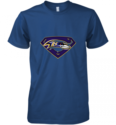 9vkp we are undefeatable the baltimore ravens x superman nfl premium guys tee 5 front royal
