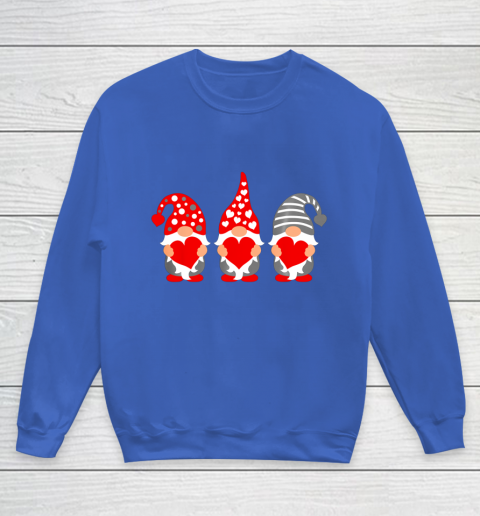 Gnomes Hearts Valentine Day Shirts For Couple Youth Sweatshirt 6