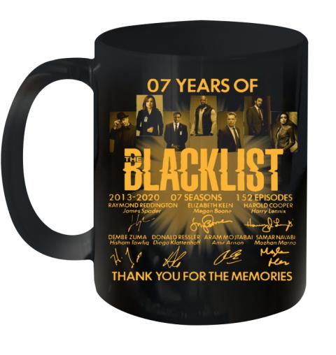 07 Years Of The Blacklist Ceramic Mug 11oz