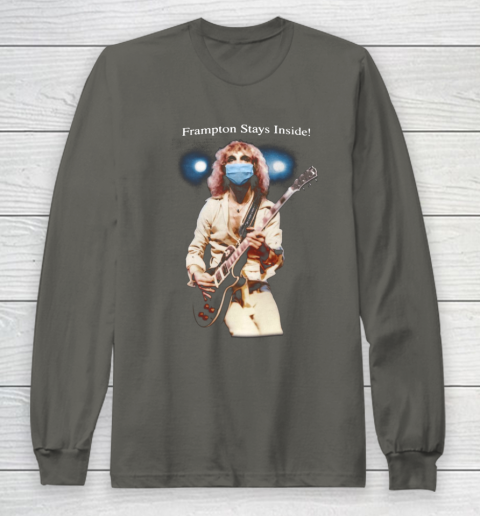 Peter Frampton Covid Stays Inside Long Sleeve T-Shirt 5