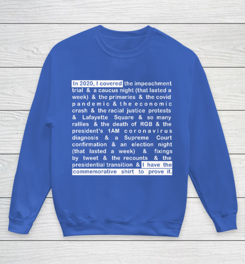 Jim Acosta Youth Sweatshirt 6
