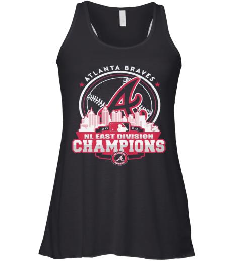 Atlanta Braves NL East Division Champions Racerback Tank