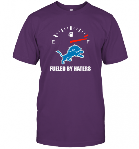lzld fueled by haters maximum fuel detroit lions jersey t shirt 60 front team purple