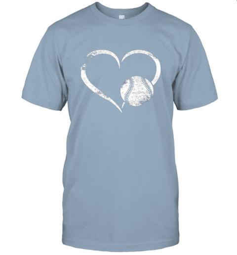 npdr i love baseballl funny baseball lover heartbeat jersey t shirt 60 front light blue