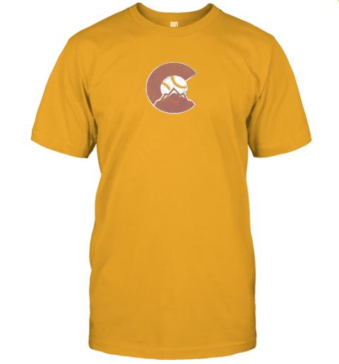 pog3 colorado rocky mountain baseball sports team jersey t shirt 60 front gold