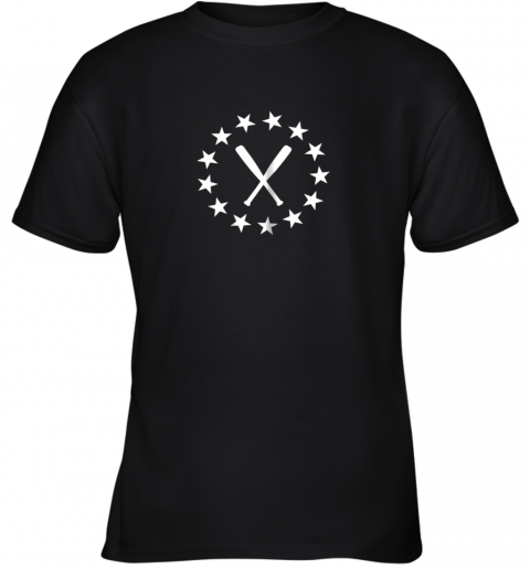 Baseball with Bats Shirt Baseballin Player Gear Gifts Youth T-Shirt