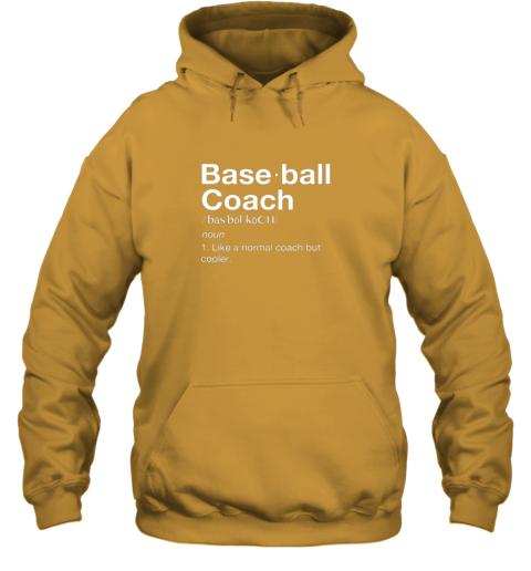 m9mb coach baseball shirt team coaching hoodie 23 front gold