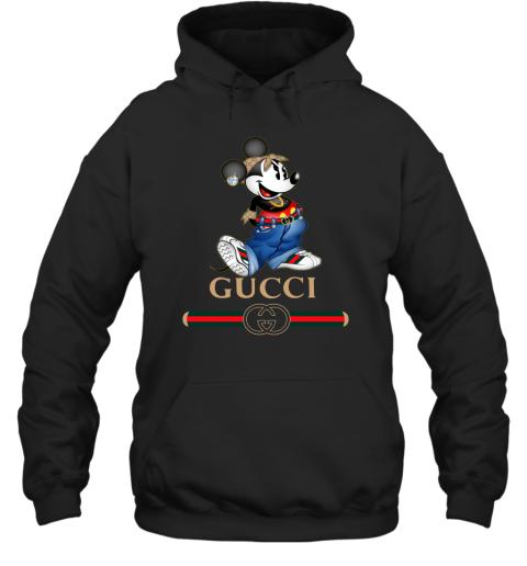 Gucci Mickey Mouse Cartoon Adult Hoodie Sweatshirt