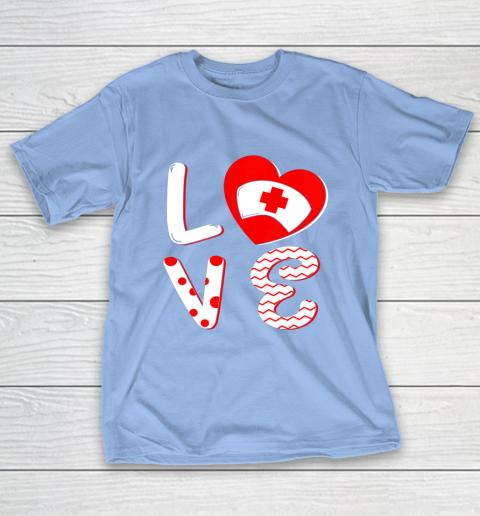 Medical Nurse Valentine Day Shirt Love Matching T-Shirt 10
