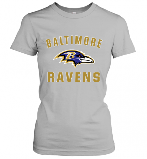 6fg8 mens baltimore ravens nfl pro line by fanatics branded gray victory arch t shirt ladies t shirt 20 front sport grey