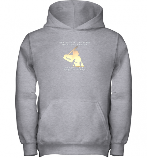 fn4n mens behind every baseball player is a dad that believes youth hoodie 43 front sport grey
