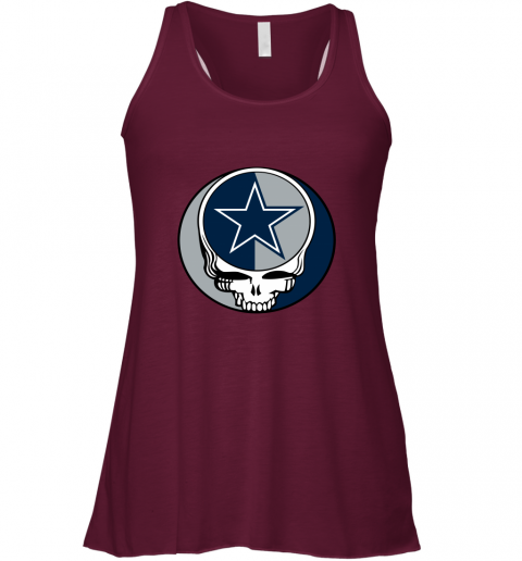 NFL Team Dallas Cowboys x Grateful Dead Racerback Tank