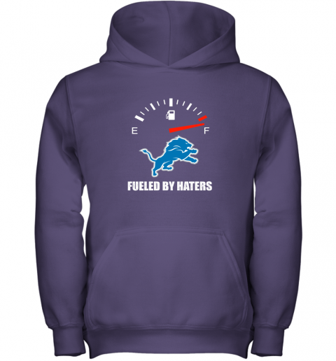 ssdm fueled by haters maximum fuel detroit lions youth hoodie 43 front purple