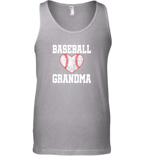 sfxs vintage baseball grandma funny gift unisex tank 17 front sport grey