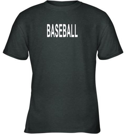 lgz3 shirt that says baseball youth t shirt 26 front dark heather