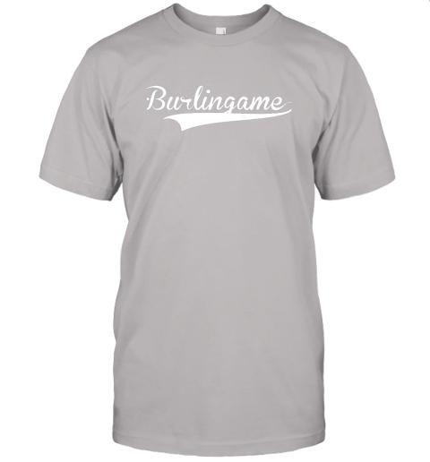 4j6a burlingame baseball softball styled jersey t shirt 60 front ash