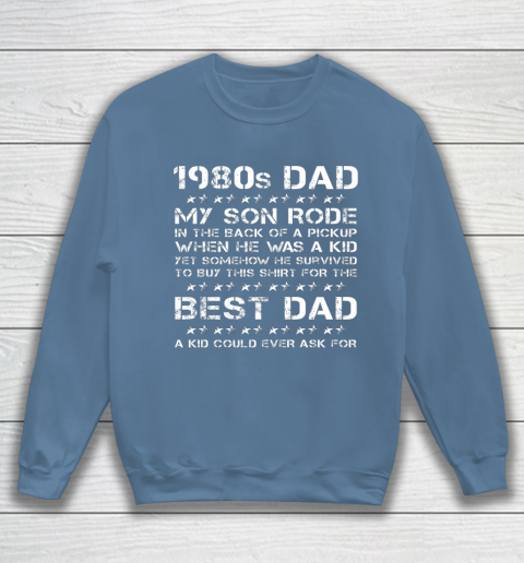 Funny 1980s Dad Boy Dad And Son Father's Day Sweatshirt 6