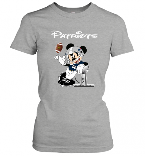 txtn mickey patriots taking the super bowl trophy football ladies t shirt 20 front ash