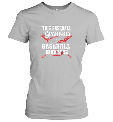 kr43 this baseball grandma loves her baseball boys ladies t shirt 20 front sport grey