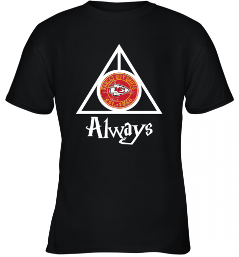 Always Love The Kansas City Chiefs x Harry Potter Mashup NFL Youth T-Shirt