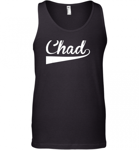 CHAD Country Name Baseball Softball Styled Tank Top