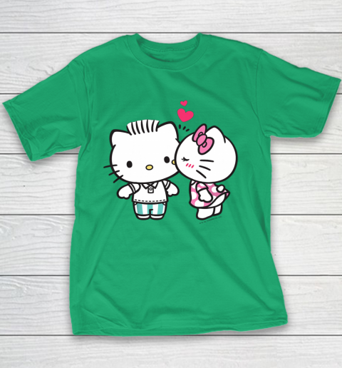 Hello Kitty and Dear Daniel Valentine Tee Youth T-Shirt 3