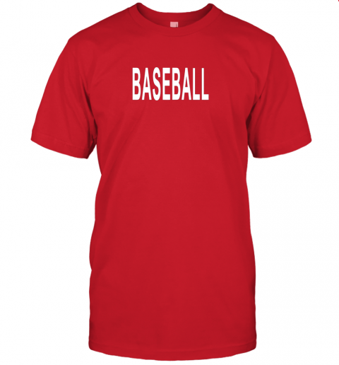 ebls shirt that says baseball jersey t shirt 60 front red