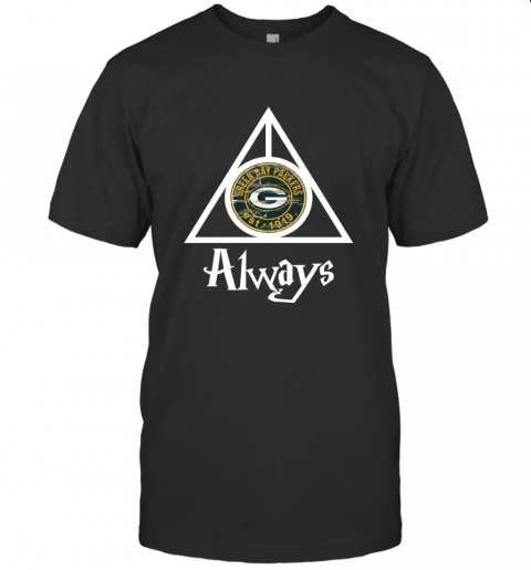 Always Love The Green Bay Packers x Harry Potter Mashup NFL T-Shirt