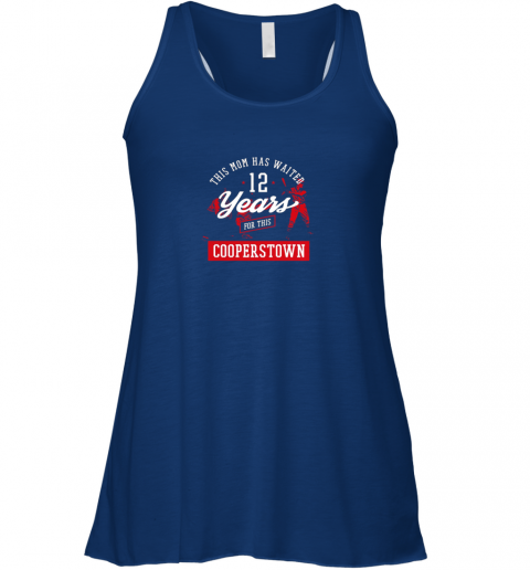 v41p this mom has waited 12 years baseball sports cooperstown flowy tank 32 front true royal