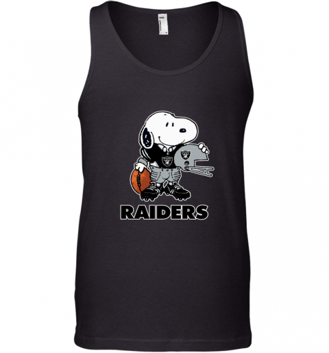 Snoopy A Strong And Proud Oakland Raiders NFL Tank Top