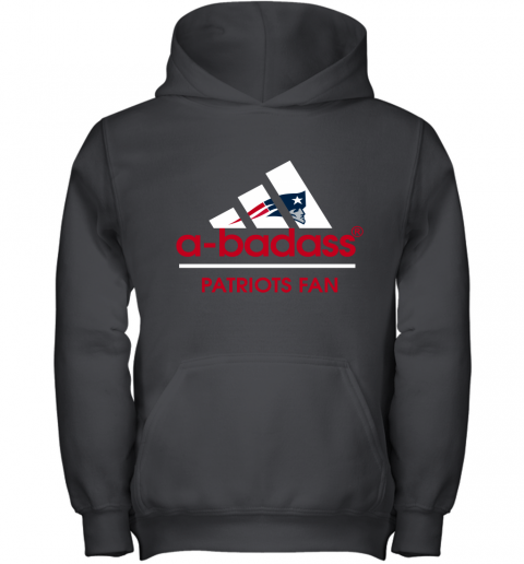 A badass New England Patriots Mashup Adidas NFL Shirts Youth Hoodie