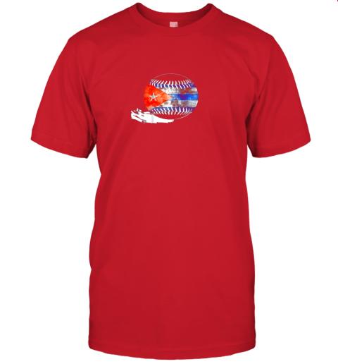 pht6 vintage baseball cuba flag shirt cuban pride jersey t shirt 60 front red