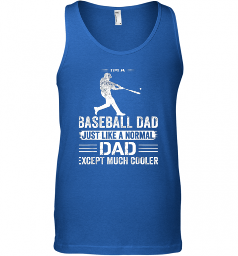 nvfn mens i39 m a baseball dad like a normal dad just much cooler unisex tank 17 front royal